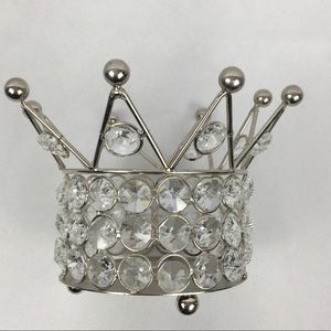 Clear Crystal Crown Holder
